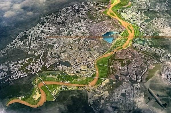 Cuối năm 2021, đồ án quy hoạch sông Hồng sẽ được duyệt