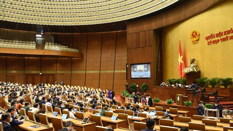 Quốc hội kiện toàn nhân sự cấp cao Nhà nước nhiệm kỳ 2021-2026