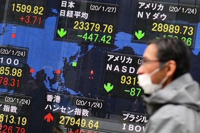 Chứng khoán châu Á trái chiều sau khi Trung Quốc công bố lợi nhuận công nghiệp