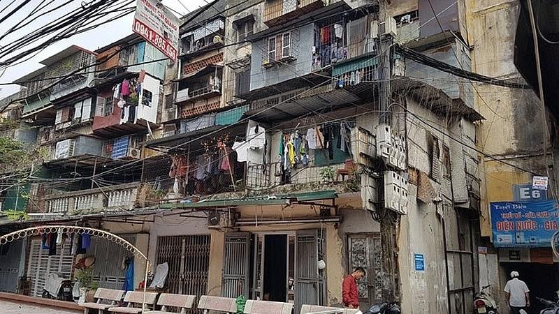 Hà Nội kiểm định lại chất lượng toàn bộ chung cư cũ