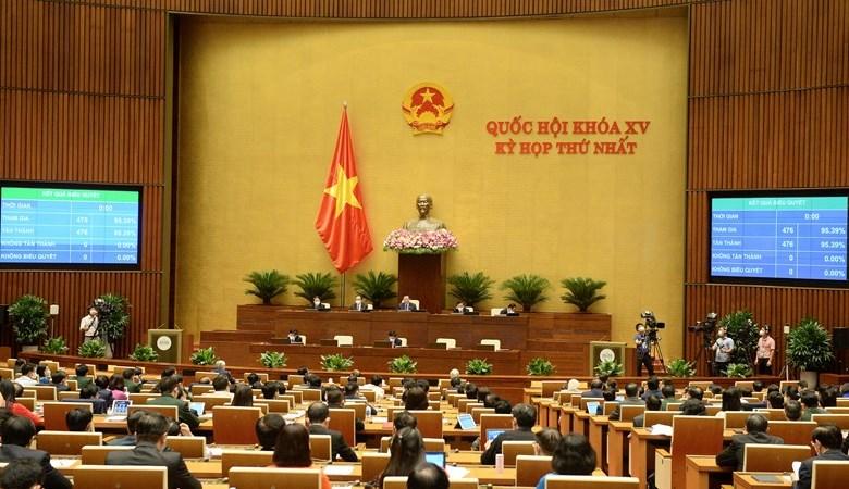 Thành viên Chính phủ nhiệm kỳ 2021-2026 ra mắt Quốc hội