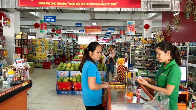 Tỷ lệ hàng Việt ở các đại siêu thị hiện nay là bao nhiêu?