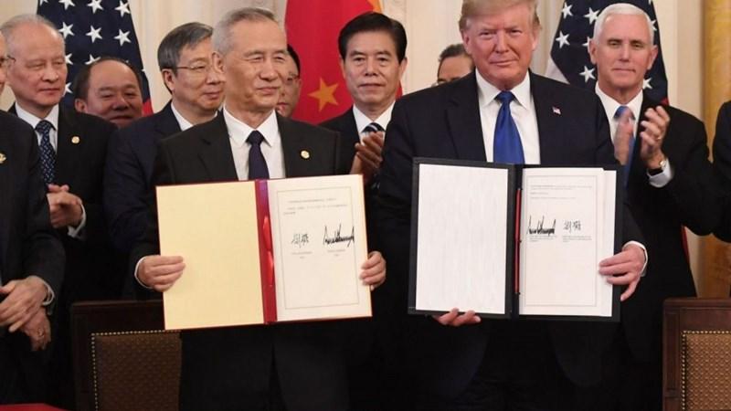 Mỹ và Trung Quốc nhất trí thảo luận trực tuyến, đánh giá thỏa thuận thương mại giai đoạn 1
