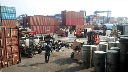 Buộc tái xuất 1.099 container phế liệu nhập khẩu không đạt chất lượng