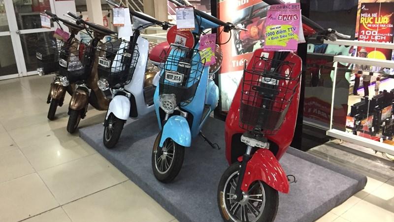 Đại chiến thị trường xe máy điện
