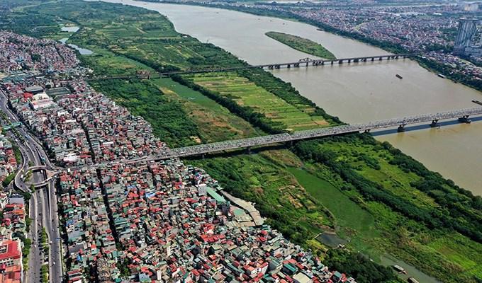 Hiện thực hoá giấc mơ đô thị ven sông Hồng