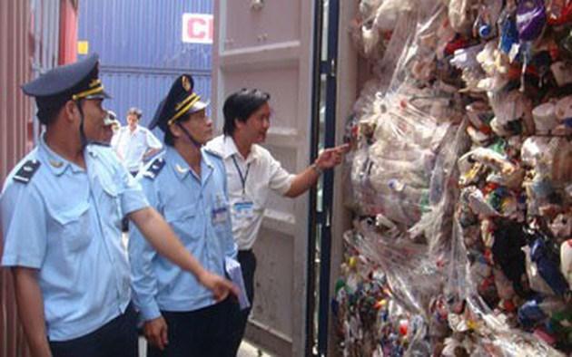 Mạnh tay xử lý phế liệu nhập khẩu