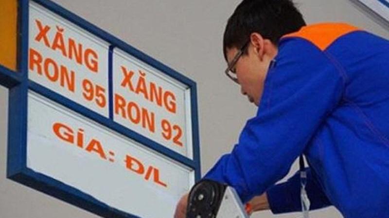 Giá xăng tăng hơn 400 đồng/lít từ chiều ngày 26/01