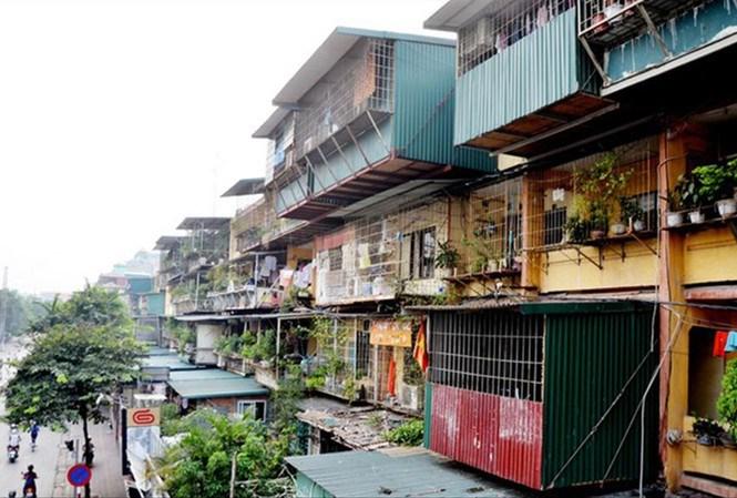 Cải tạo chung cư cũ ở Hà Nội: Phải xé rào quy hoạch?