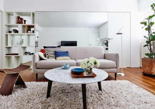 6 mẹo giúp căn hộ nhỏ trở nên rộng và sang trọng