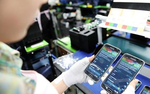 Kim ngạch xuất khẩu điện thoại vượt dệt may, thủy sản, dầu thô