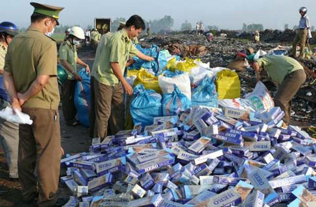 Hải quan Tây Ninh: Đẩy mạnh chống buôn lậu thuốc lá cuối năm