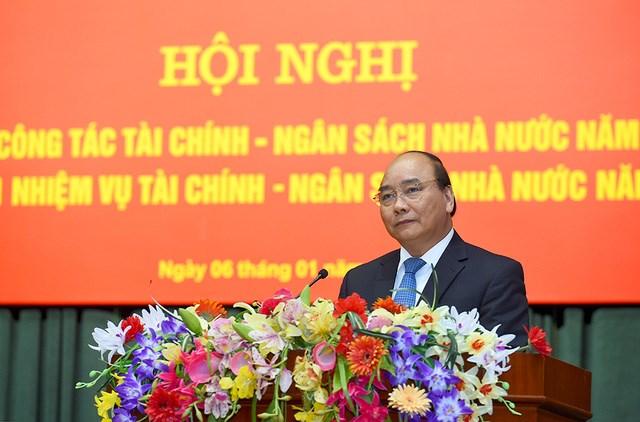 Thủ tướng Chính phủ Nguyễn Xuân Phúc: Tin tưởng và kỳ vọng vào sự đi đầu của Bộ Tài chính