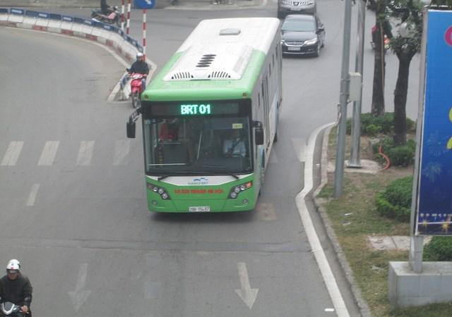 Từ 6/2: Thu phí xe buýt nhanh BRT 7.000đ/lượt