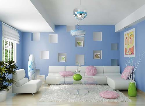 Những lưu ý cần tránh khi sơn nhà