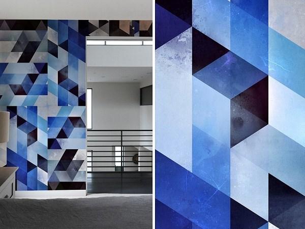 Nội thất họa tiết hình học - Lựa chọn cho kiến trúc hiện đại