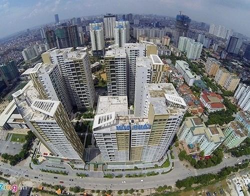 Hà Nội và TP. Hồ Chí Minh đang dẫn đầu thế giới về mức lợi suất văn phòng