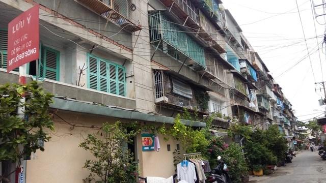 Cuối năm 2017, chung cư cũ ở TP. Hồ Chí Minh sẽ có diện mạo mới
