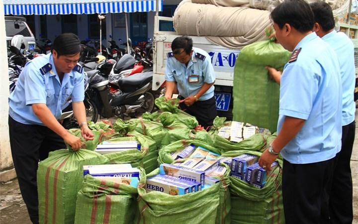 Kiểm soát chặt chẽ việc tái xuất thuốc lá ngoại nhập lậu bị tịch thu