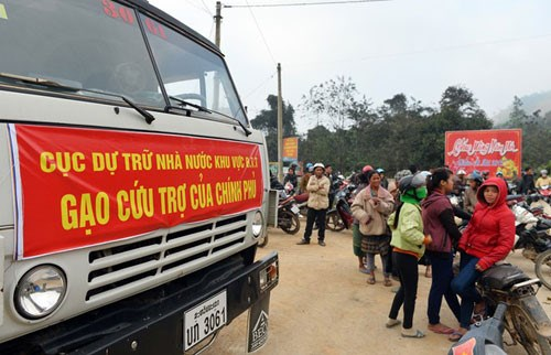 Bộ Tài chính xuất cấp gạo từ nguồn Dự trữ Quốc gia cho tỉnh Yên Bái