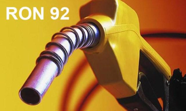 Được phép sản xuất kinh doanh xăng RON 92 (A92) đến hết ngày 31/12/2017