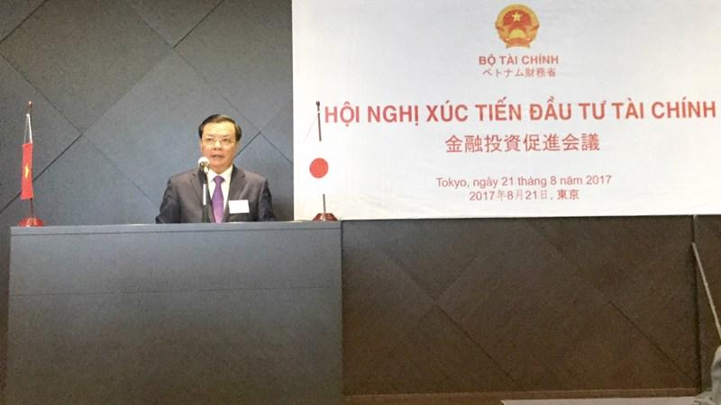 Bộ trưởng Đinh Tiến Dũng chủ trì Hội nghị Xúc tiến đầu tư Nhật Bản vào Việt Nam