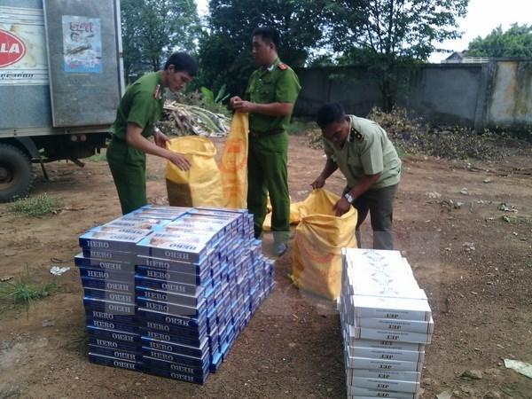 Kiểm tra, xử lý nghiêm các vụ buôn lậu thuốc lá