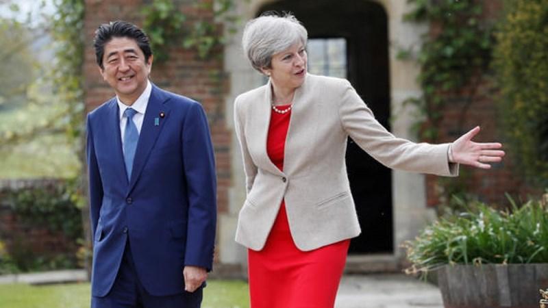 Anh nỗ lực tìm kiếm hiệp định thương mại tự do với Nhật Bản