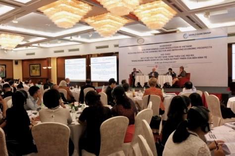 Nhóm Ngân hàng Thế giới cam kết hỗ trợ Việt Nam xử lý nợ xấu