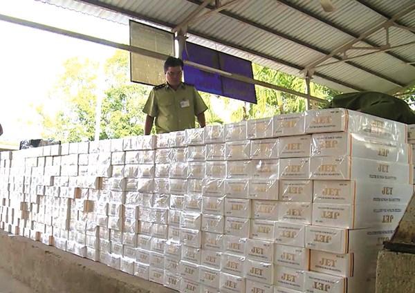 Hướng xử lý thuốc lá ngoại nhập lậu bị tịch thu