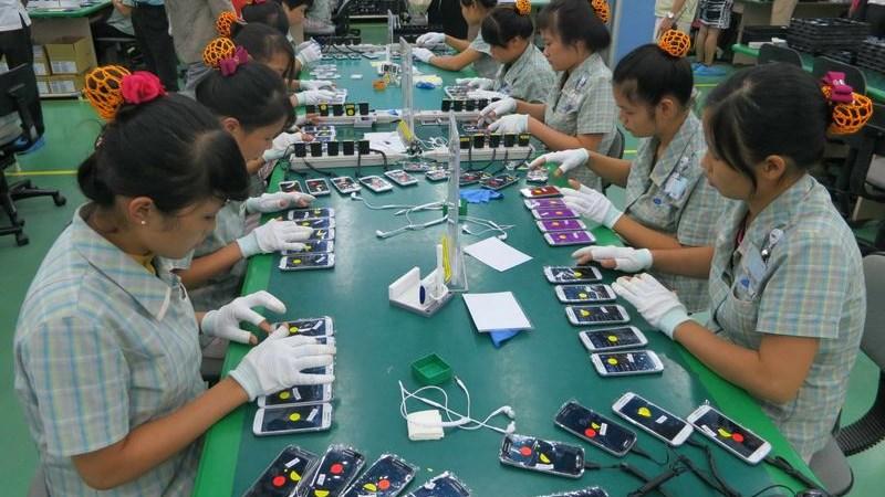 Xuất khẩu điện thoại và linh kiện dẫn đầu nhóm hàng 10 tỷ USD