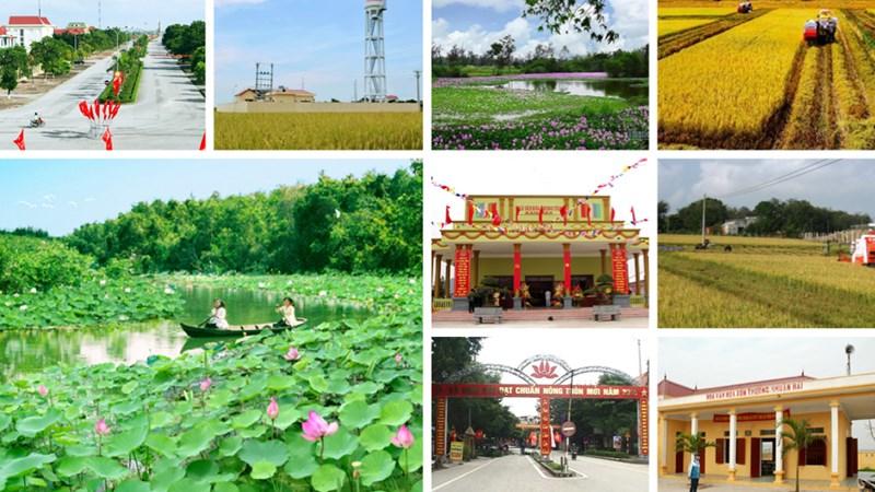 Thực trạng và giải pháp xây dựng nông thôn mới tại Thái Nguyên