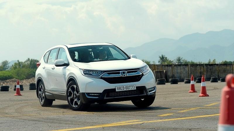 Honda Việt Nam công bố giá bán lẻ đề xuất chính thức CR-V thế hệ thứ 5