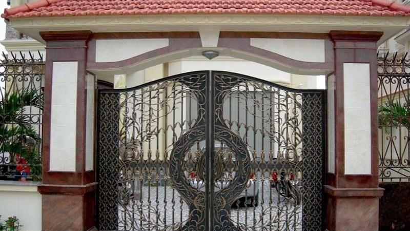 Những lưu ý khi thiết kế cửa cổng sắt