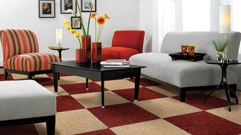 Một số lưu ý khi chọn mua thảm trải sàn bằng len cho nội thất