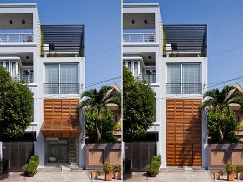 Giải pháp cho những ngôi nhà có mặt tiền hẹp