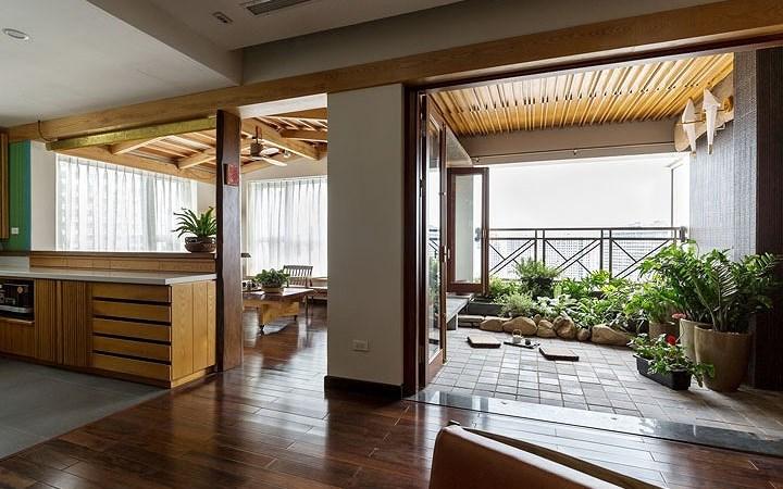Cải tạo căn hộ chung cư để đón ánh sáng tự nhiên