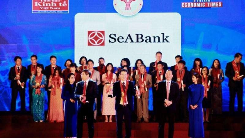 SeABank lần thứ 9 liên tiếp nhận giải thưởng thương hiệu mạnh Việt Nam