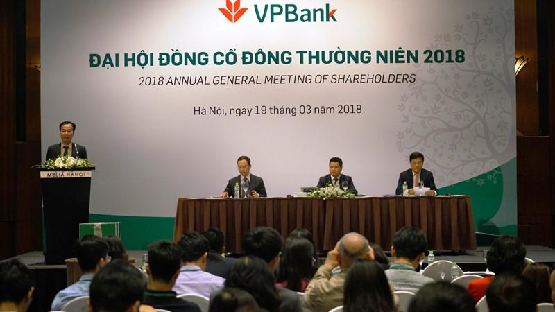 VPBank tiếp tục duy trì đà tăng trưởng lợi nhuận và chất lượng tài sản trong quý I/2018