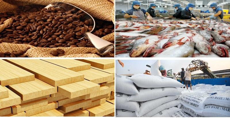 5 tháng đầu năm 2018: Xuất khẩu nông, lâm thủy sản đạt 15,6 tỷ USD