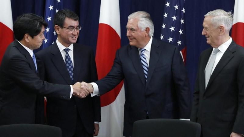 Nhật - Mỹ nhất trí duy trì sức ép đối với Triều Tiên