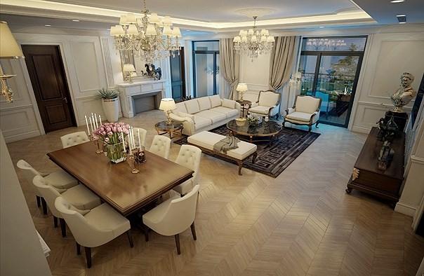 Cần lưu ý gì khi thiết kế nội thất chung cư cao cấp?