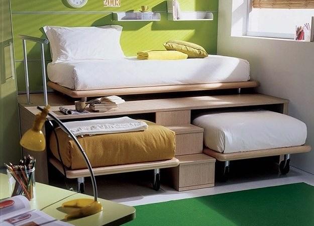 Ý tưởng thiết kế tuyệt vời cho phòng ngủ nhỏ hẹp