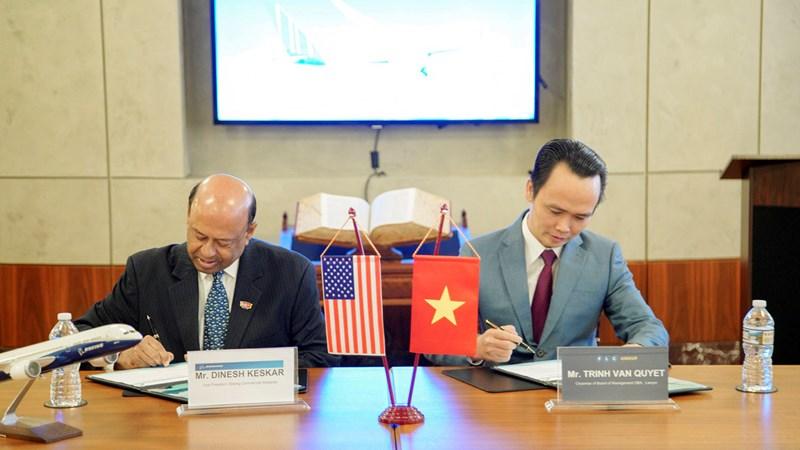 Những thương vụ tỷ đô góp phần cân bằng cán cân thương mại Việt Nam – Mỹ