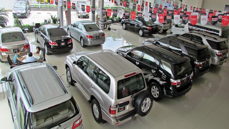 Tháng 07/2018, sản lượng tiêu thụ xe ô tô tăng nhẹ