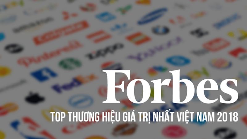 40 thương hiệu đắt giá nhất Việt Nam năm 2018