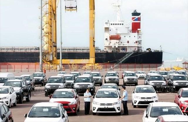 Giá trị kim ngạch nhập khẩu ô tô đạt trên 89 triệu USD trong tuần vừa qua