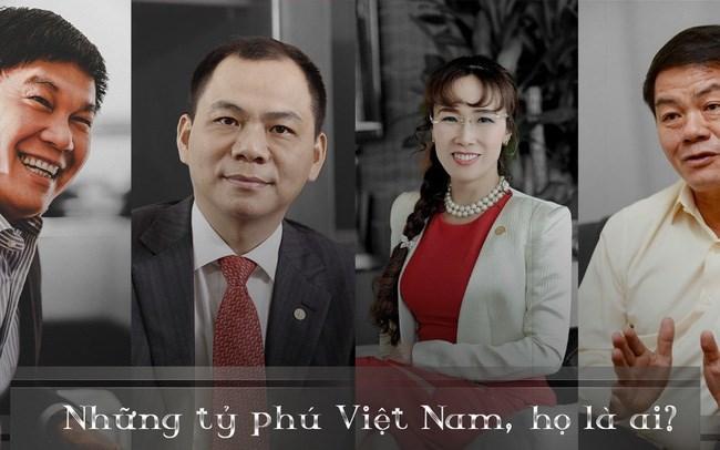 Tỷ phú Việt Nam ở đâu trên bản đồ thế giới?
