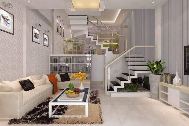 Thiết kế nhà lệch tầng tạo độ thoáng mát cho ngôi nhà