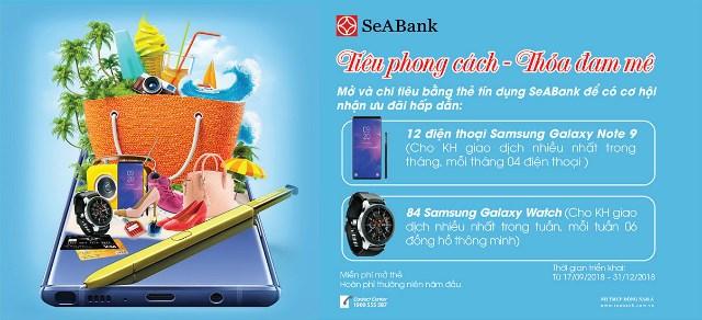 """SeABank triển khai chương trình ưu đãi mua sắm đặc biệt """"Tiêu phong cách - Thỏa đam mê"""""""